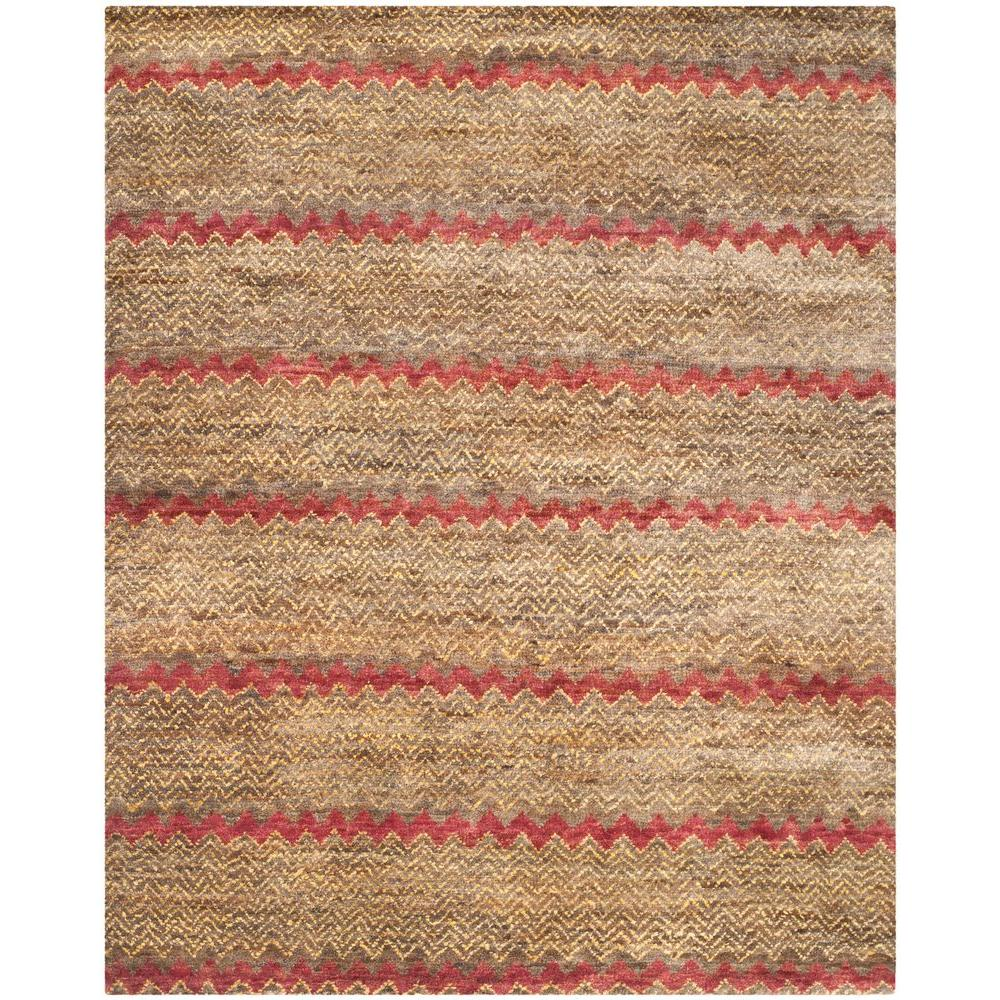 Safavieh Bohemian Brown Gold 8 Ft X 10 Area Rug