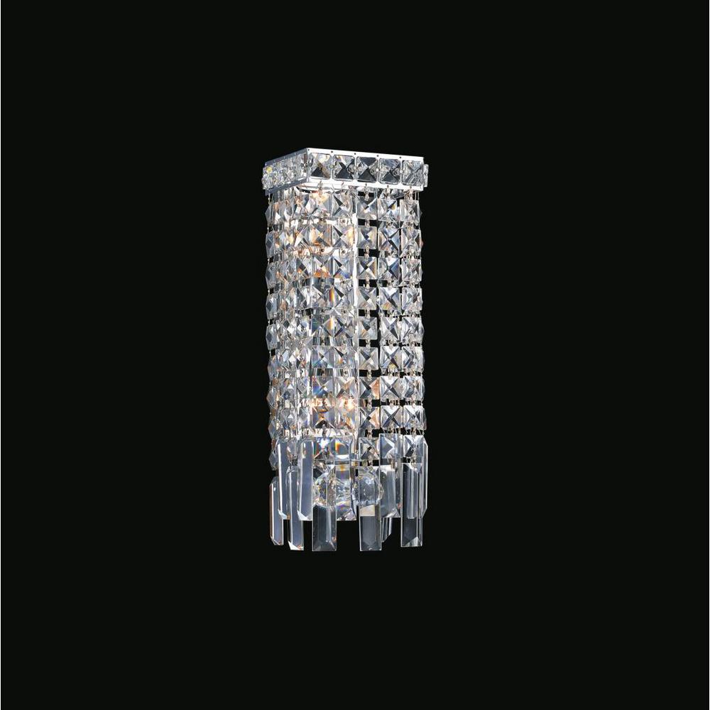 Colosseum 2-Light Chrome Sconce