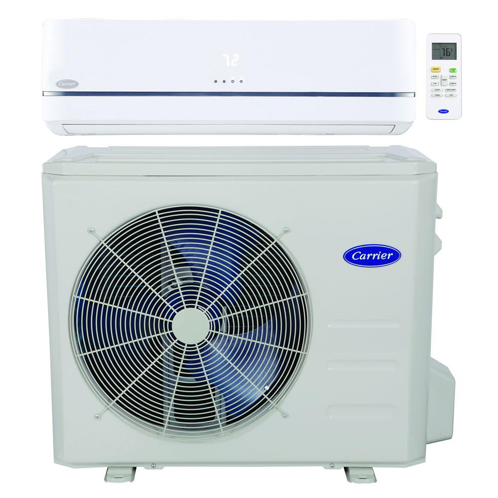 Carrier Installed Performance Series Residential Ductless Air Conditioner