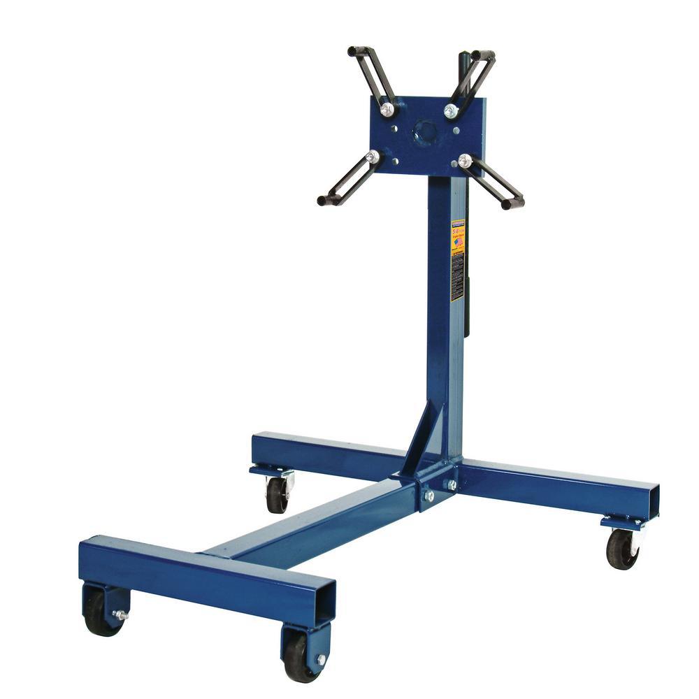 HEIN WERNER 5/8 Ton Capacity Blue Engine Stand
