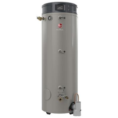 Commercial Triton Premium Heavy Duty High Eff. 80 Gal. 300K BTU ULN Natural Gas ASME Power Direct Vent Tank Water Heater