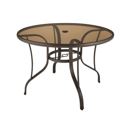 Steel Round Outdoor Patio Dining