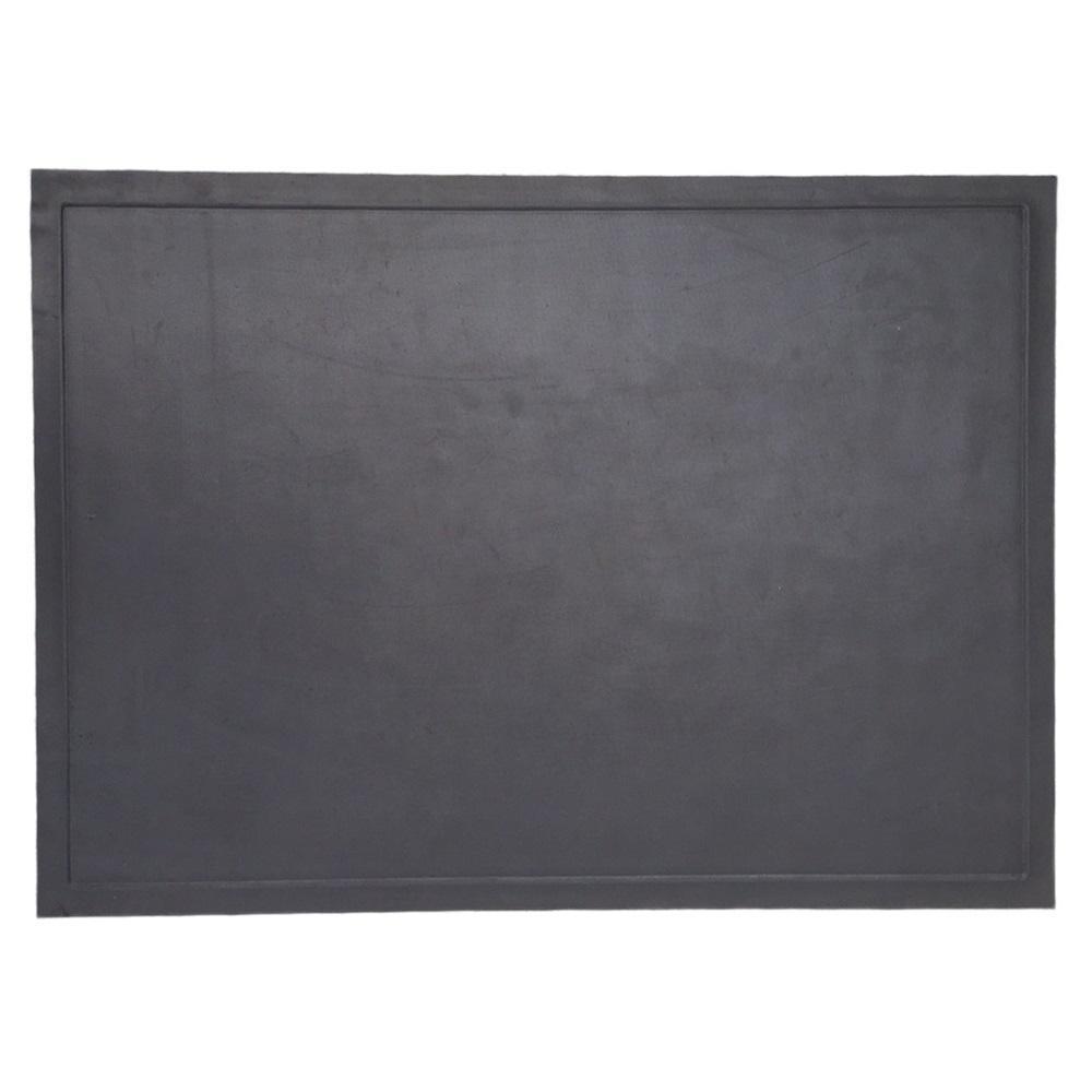 48 in. x 30 in. Black Rectangular Ultra Grill Mat