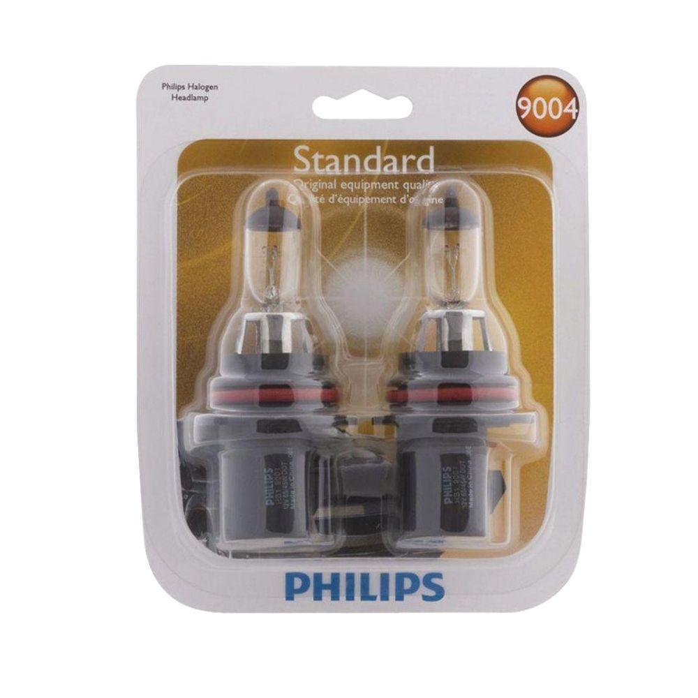 Philips Standard 9004 Headlight Bulb (2-Pack)