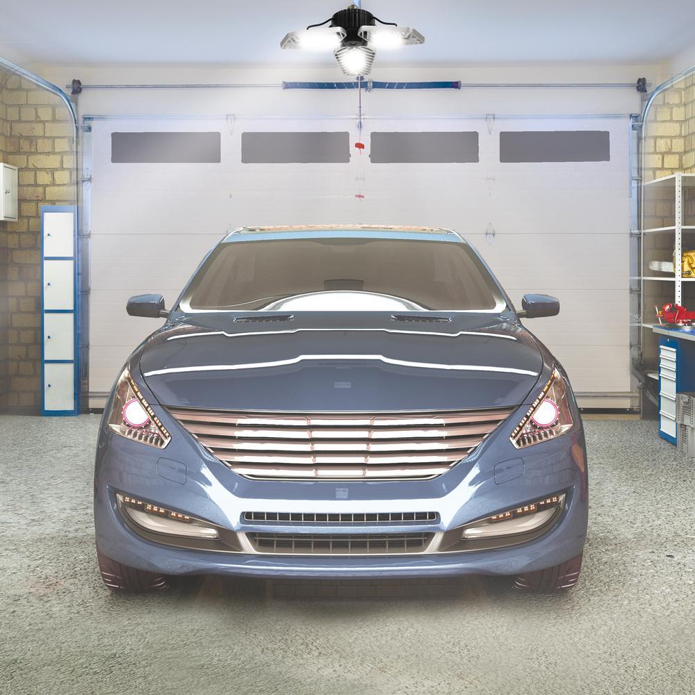 Reviews For Beyond Bright 3500 Lumens, Garage Stop Light Home Depot