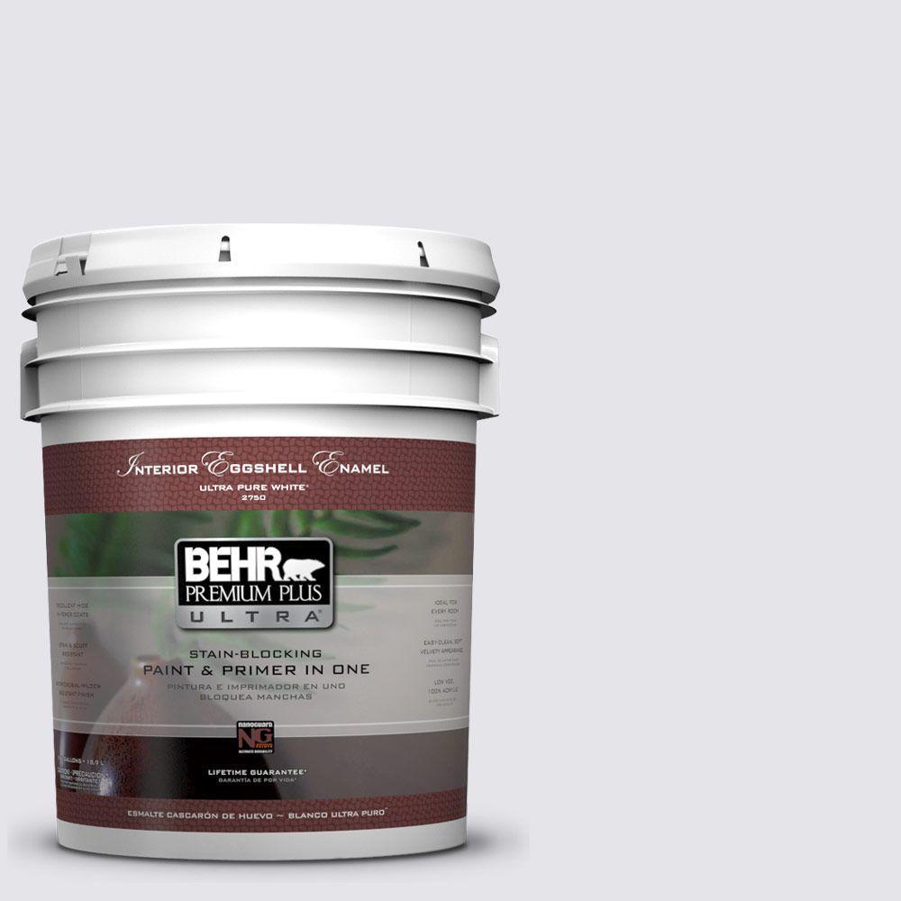 BEHR Premium Plus Ultra 5-gal. #620E-1 Lily Lavender Eggshell Enamel Interior Paint