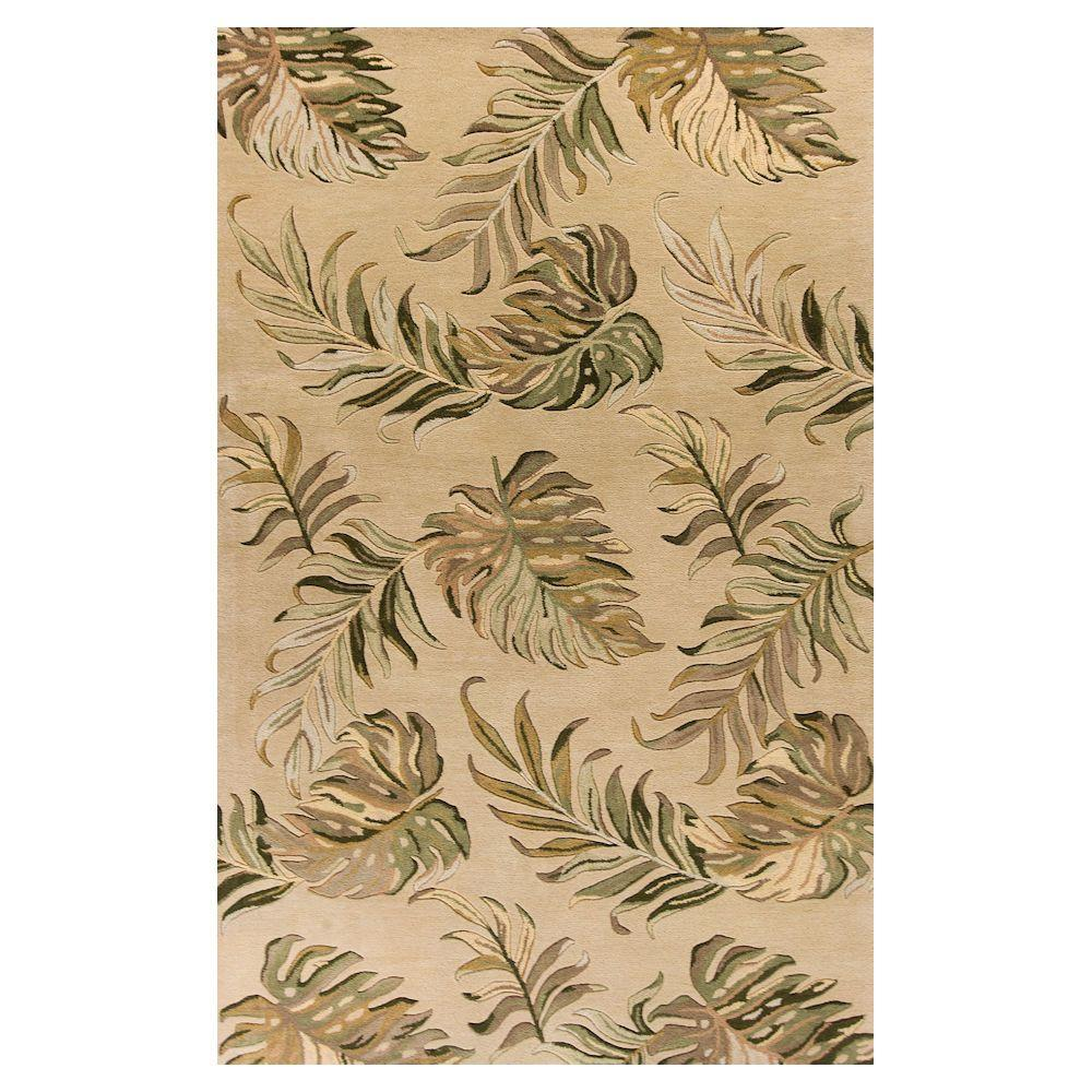 Palm Tropic Sand 2 ft. 6 in. x 4 ft. 2