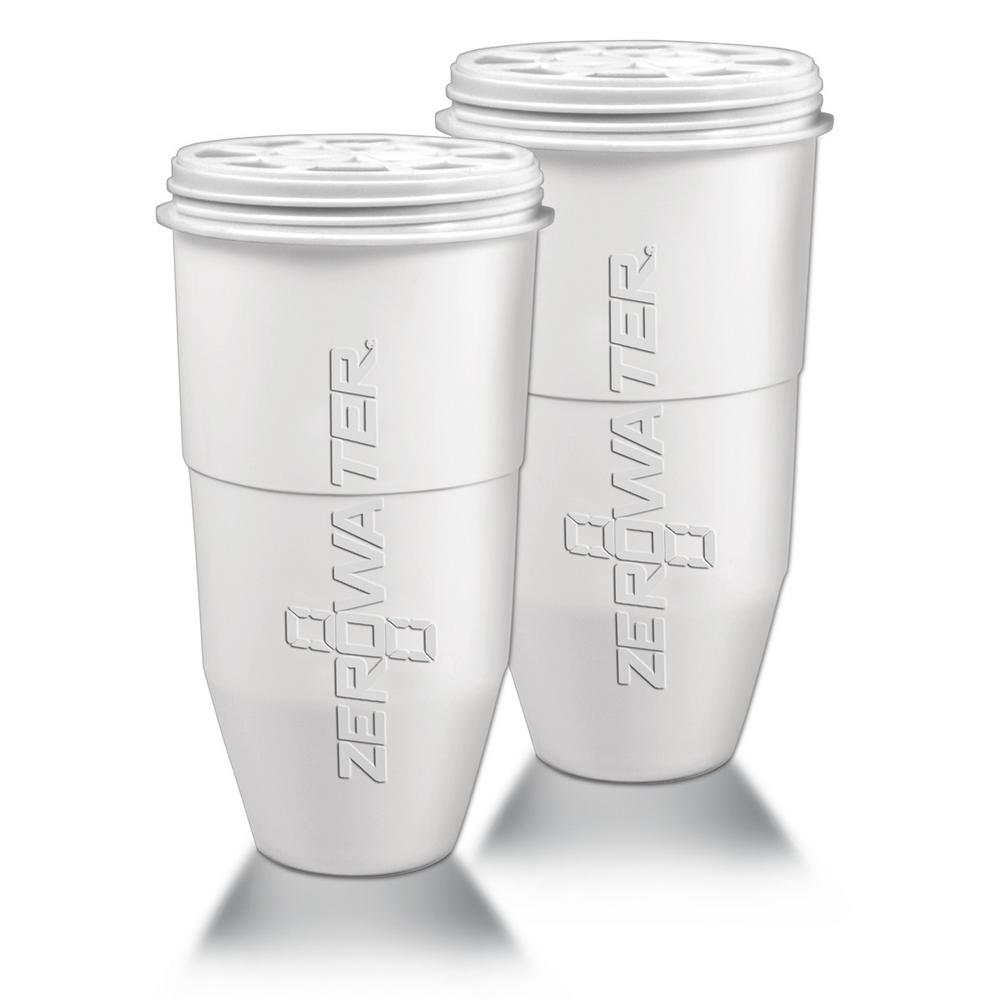 Zero Water Replacement Filter for Pitchers (2-Pack)