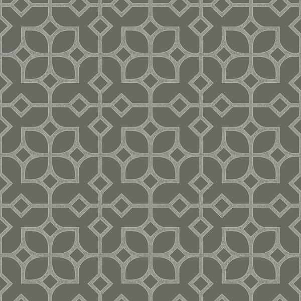 A Street Maze Grey Tile Wallpaper