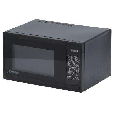 1.1 cu. ft. Countertop Microwave in Black