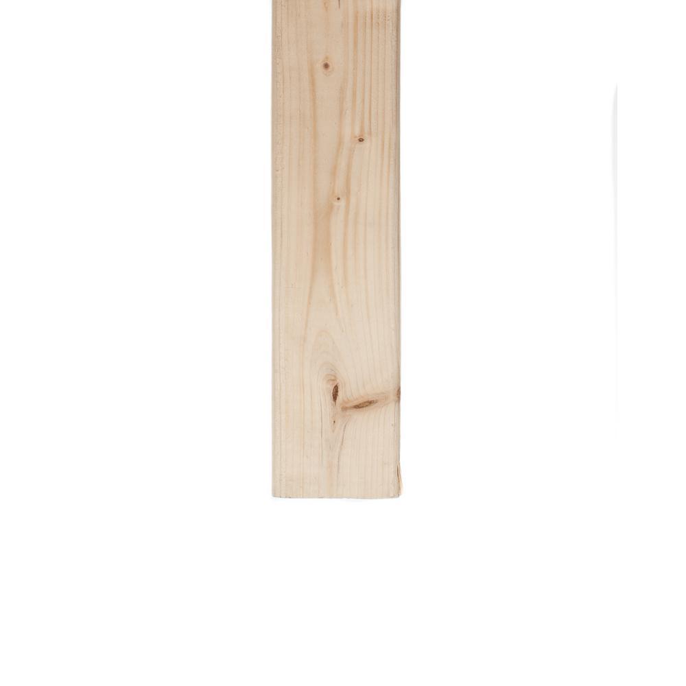 2 in. x 3 in. x 96 in. Premium Kiln Dried Heat Treated Whitewood Stud