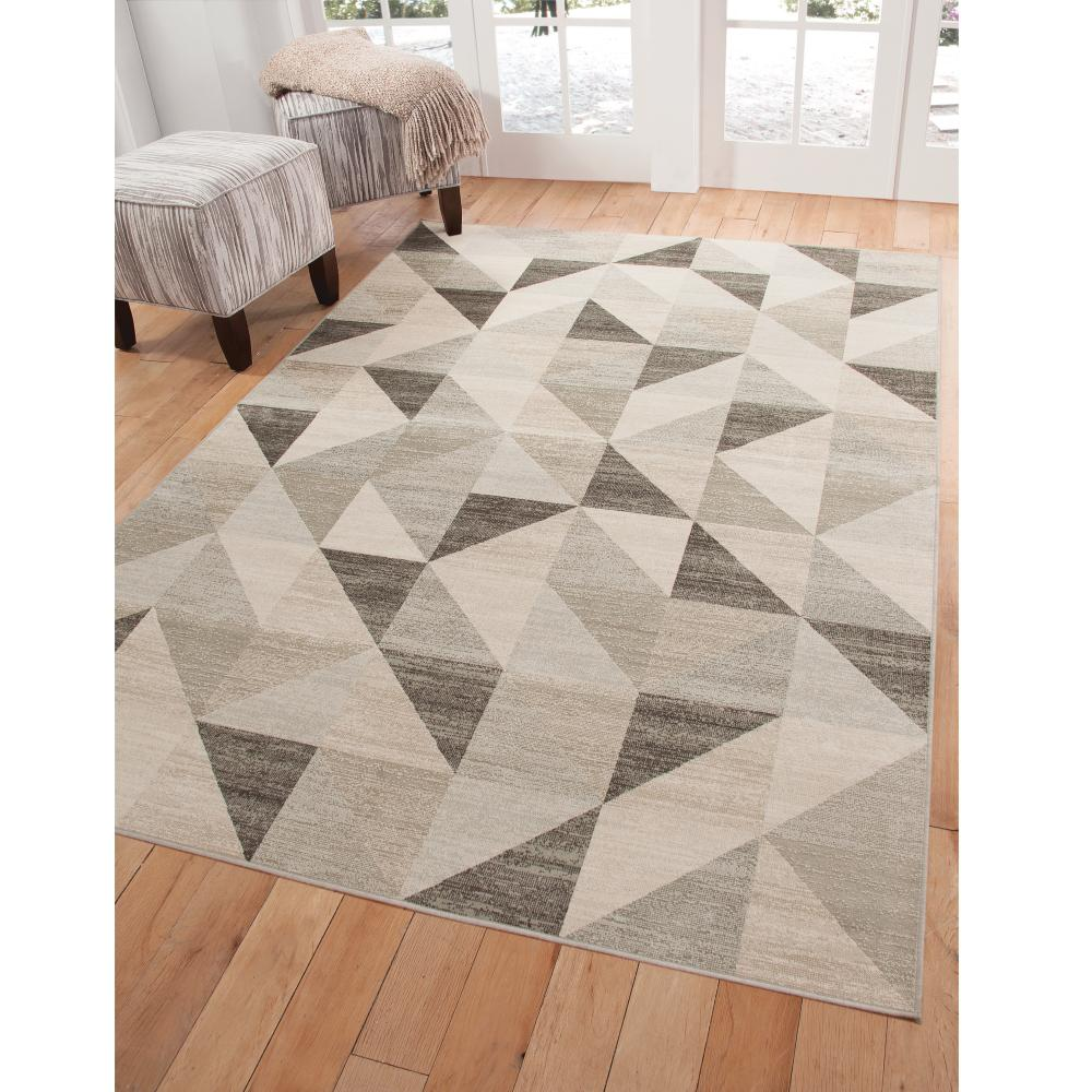 Sonoma Colburn Silver Grey 5 ft. 3 in. x 7 ft.