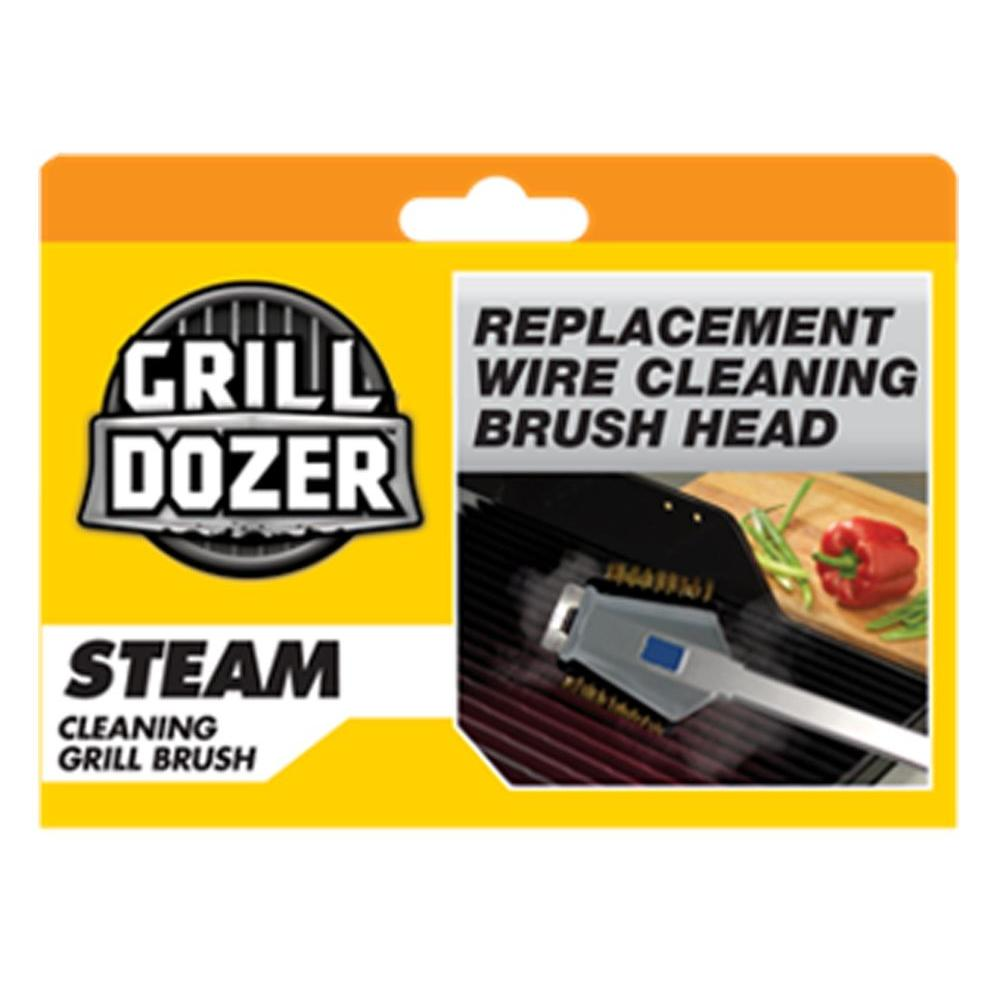 Replacement Head for Steam Grill Cleaning Brush