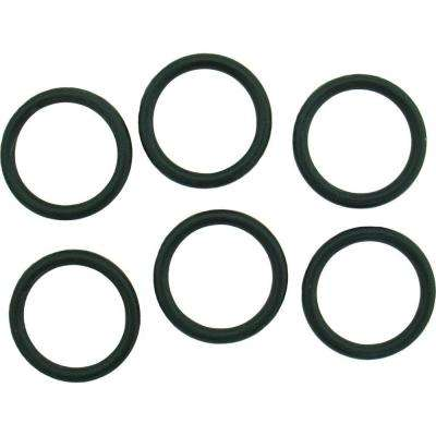 13/16 in. O.D. x 5/8 in. I.D. #212 Rubber O-Ring (6-Pack)