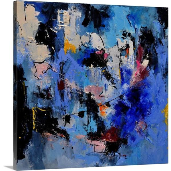 Abstract 66211112 By Pol Ledent Canvas Wall Art