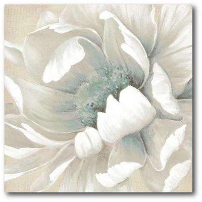 "16 in. x 16 in. ""Winter Blooms II"" Canvas Wall Art"