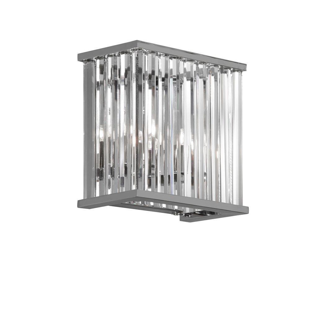Radionic Hi Tech Aruba 2-Light Polished Chrome Wall Lamp by Radionic Hi Tech