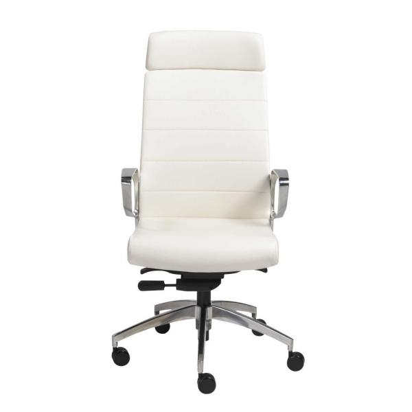 Amelia White High Back Office/Desk Chair