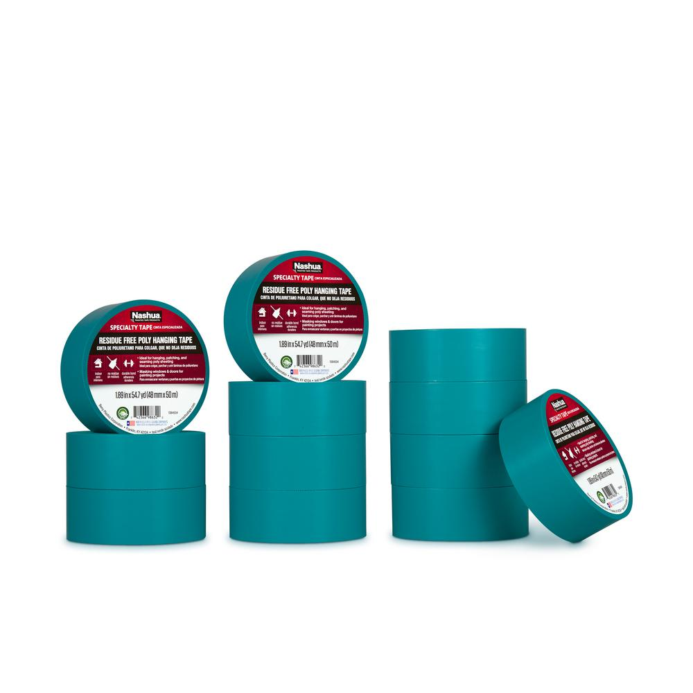 Nashua Tape 1 89 In X 54 7 Yd Residue Free Poly Hanging