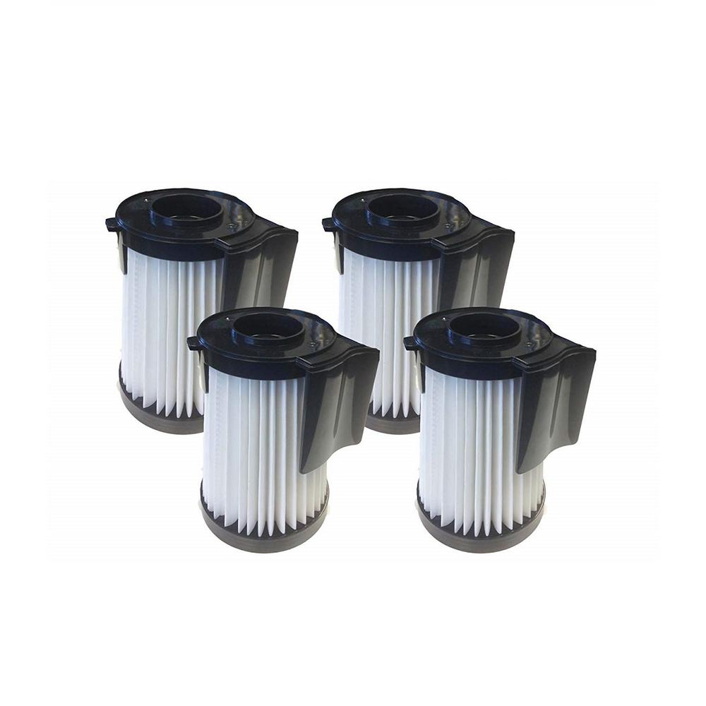 Eureka HEPA Style Filters Replacement for Eureka DCF10 and DCF14 Part 62396, 62731 and 62396-2 (4-Pack)