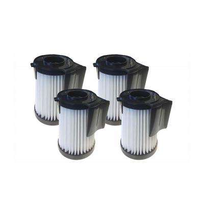 HEPA Style Filters Replacement for Eureka DCF10 and DCF14 Part 62396, 62731 and 62396-2 (4-Pack)