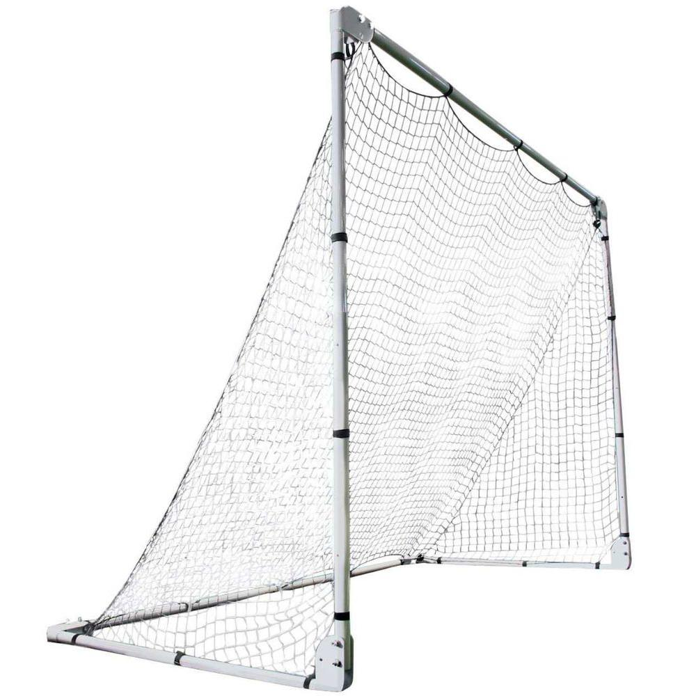 Lifetime 7 ft. x 5 ft. Adjustable Size Folding Soccer Goal