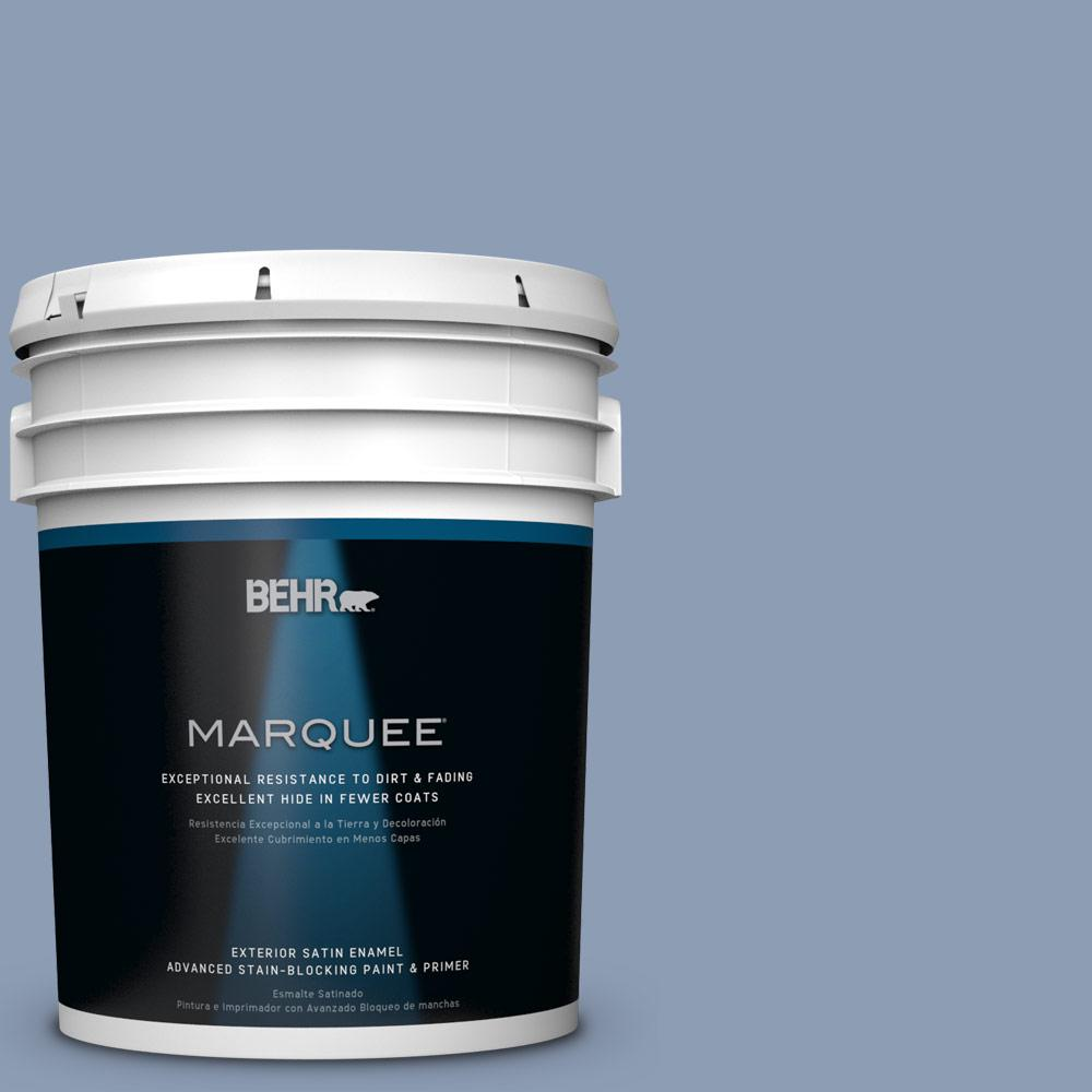 BEHR MARQUEE 5-gal. #PPU15-10 China Silk Satin Enamel Exterior Paint