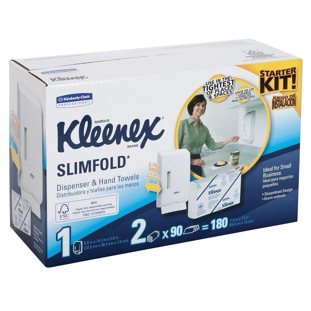 7.50 in. W x 11.60 in. L White Towel Starter Kit