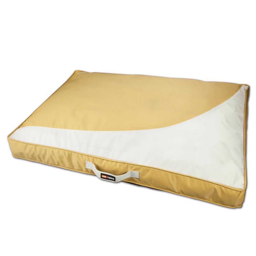 Large Yellow Immortal-Trek Waterproof Rectangular Travel Dog Bed