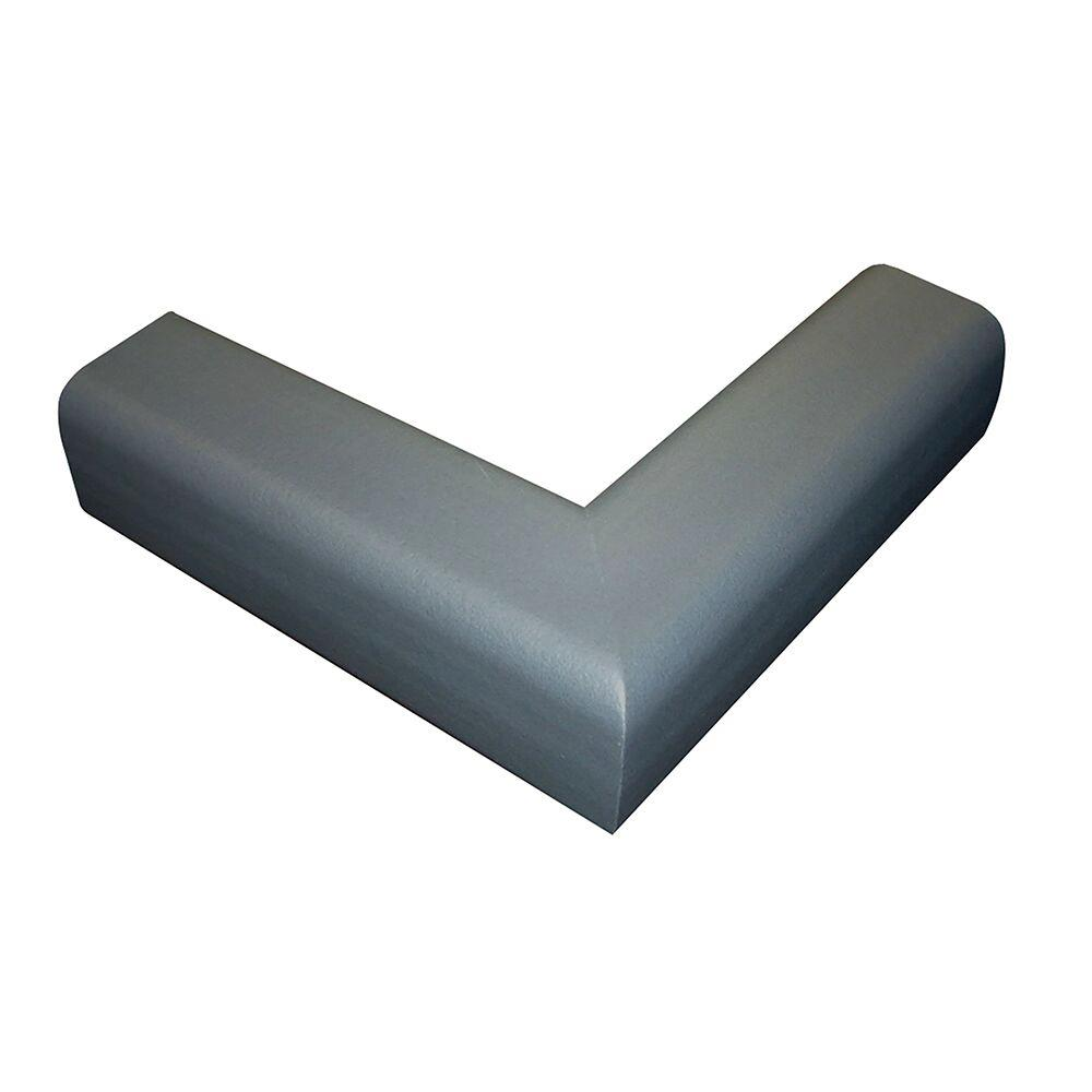 Pressure-Mounted Fireplace Cushion, Gray