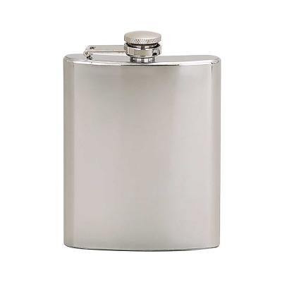 6 oz. Flask Bright Polished