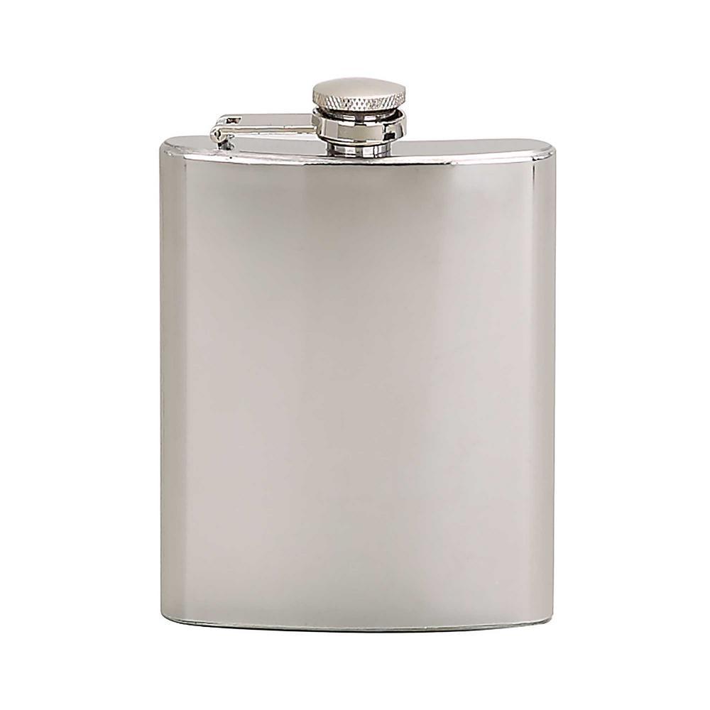 6 oz. Flask Bright Polished