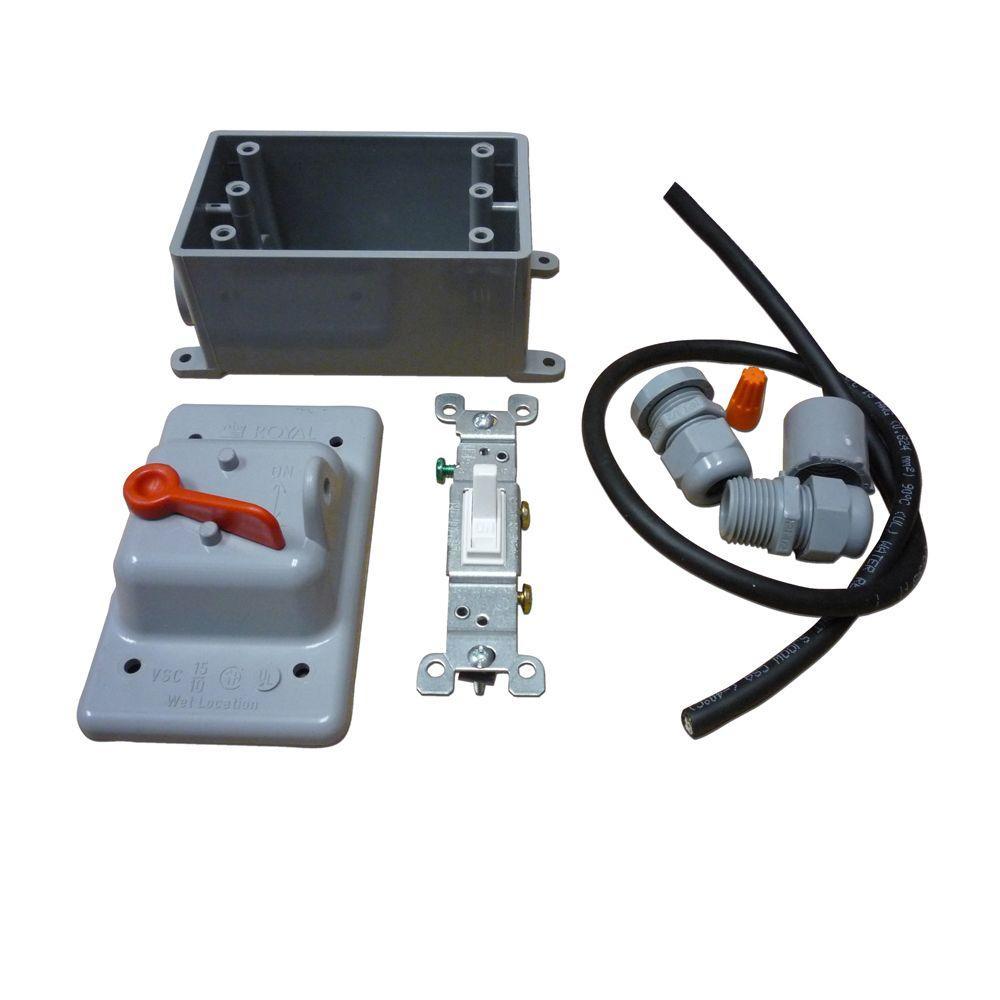 Exterior Switch Kit for SF180 Radon Fan