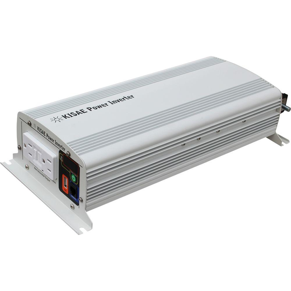 kisae 1 500 watt modified sine wave inverter mw1215 the home depot. Black Bedroom Furniture Sets. Home Design Ideas