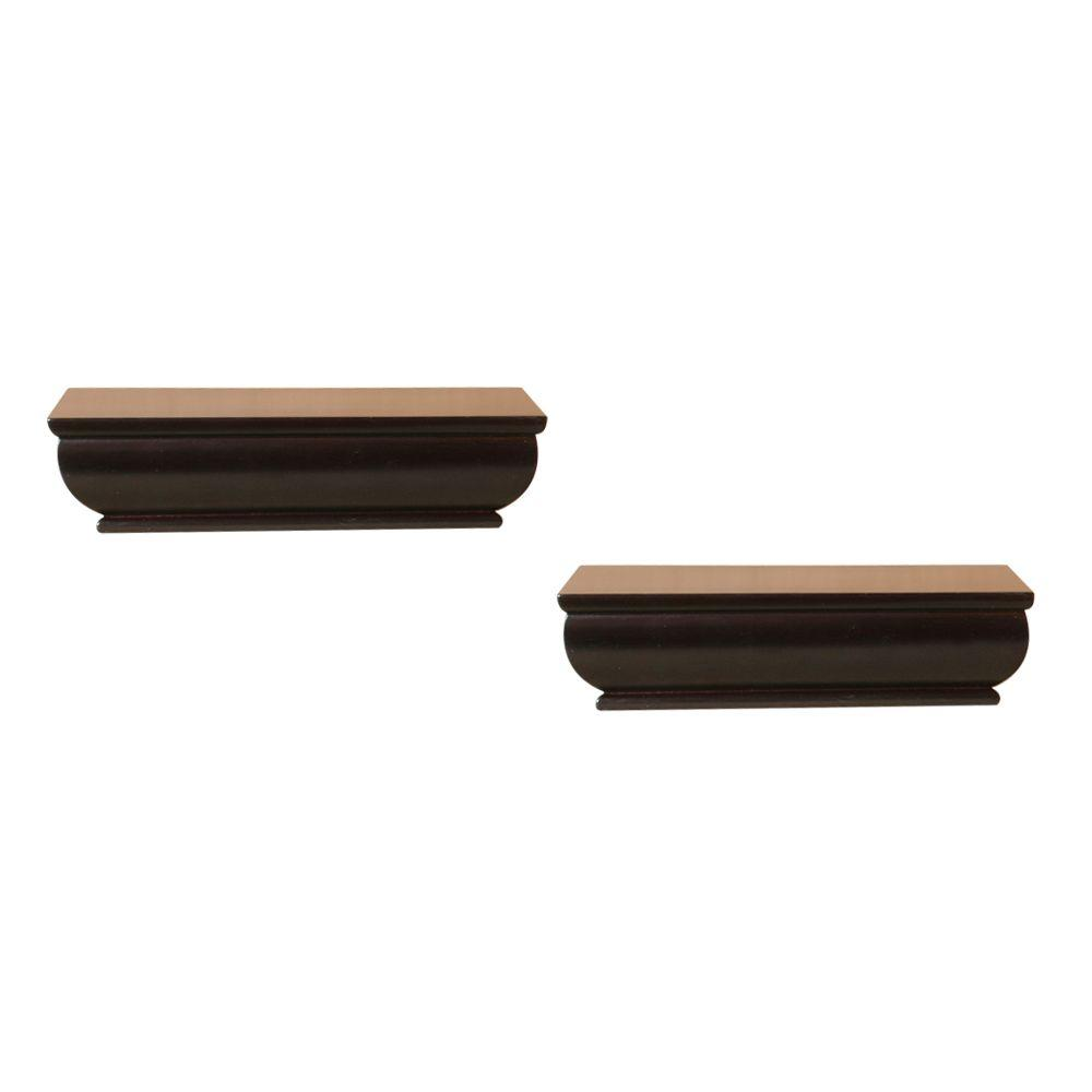 8 in. Floating Ledge (2-Piece)