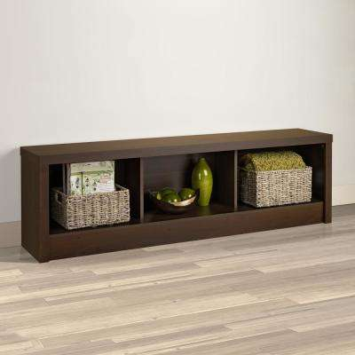 Series 9 Rich Espresso Bench