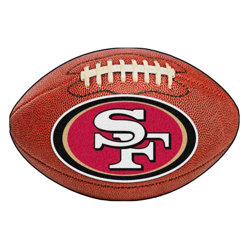 San Francisco 49ers  Decorative Ultra Plush Carpet Area Rug Football Area Rug