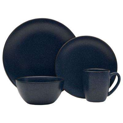 16-Piece Julianna Blue Dinnerware Set