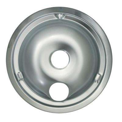 8 in. Large Drip Bowl in Chrome (1-Pack)