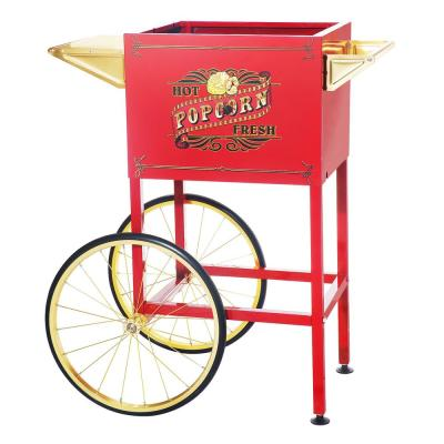 8 oz. Red Replacement Cart / Stand for Princeton Style Popcorn Machine