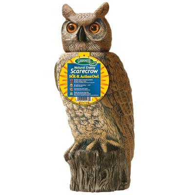 18.5 in. H Dalen Products SOL-R Action Owl
