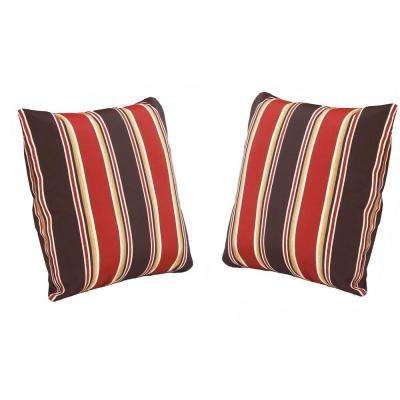 Beverly Beige Outdoor Throw Pillow (2-Pack)