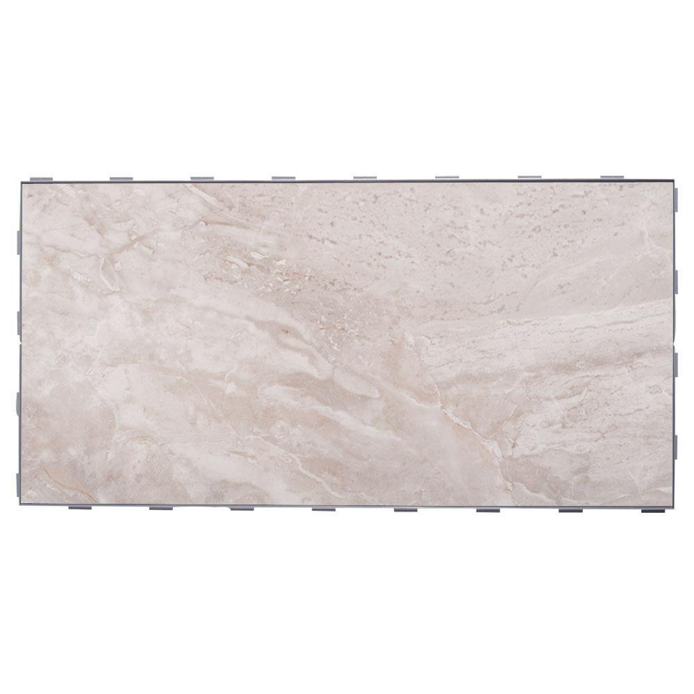 SnapStone Oyster Grey 12 in. x 24 in. Porcelain Floor Tile (8 sq. ft. / case)