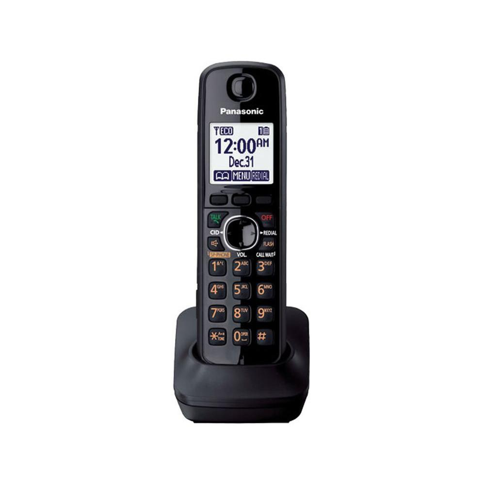 Panasonic DECT 6.0 Cordless Phone Accessory Handset for 6600 and 7600 Series - Metallic Gray
