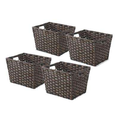 0.2 Gal. Driftwood Storage Tote (Set of 4)
