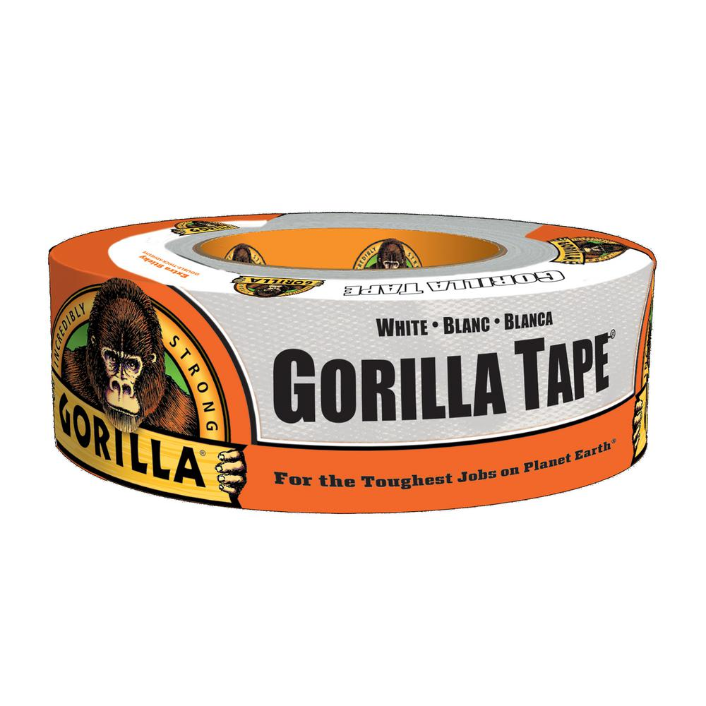 Gorilla 1.88 in. x 30 yd. White Tape (6-Pack)