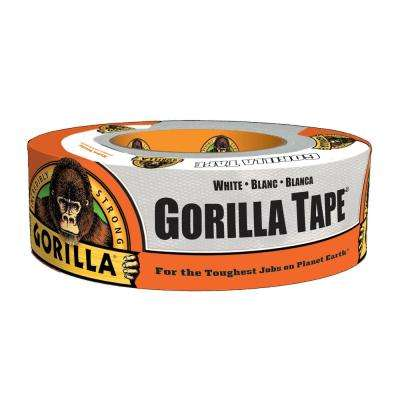 1.88 in. x 30 yds. White Duct Tape (6-Pack)