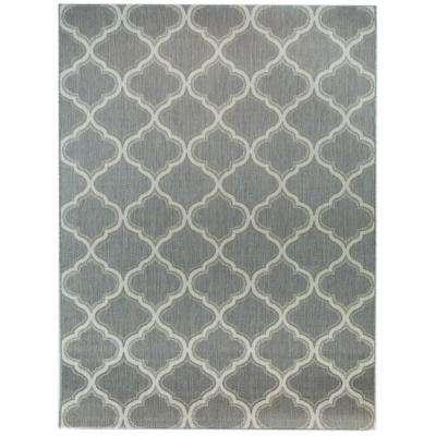 Gray 9 X 12 Outdoor Rugs Rugs The Home Depot