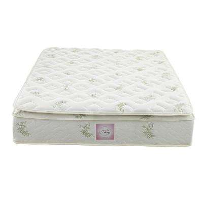 Oasis King Size 13 in. Independently Encased Coil Pillow Top Mattress with CertiPUR-US Certified Foam