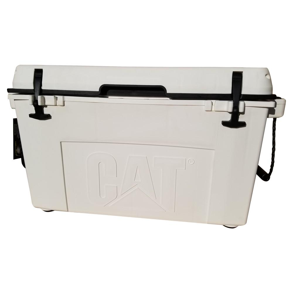 55 Qt. Caterpillar Cooler in White